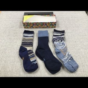 Smartwool Ultra Comfy Sock Trio women's one size